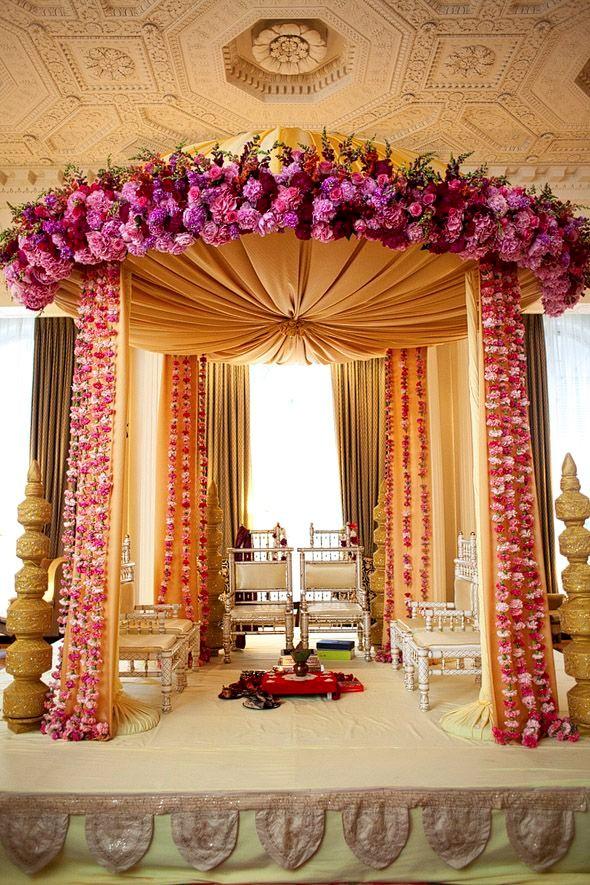 "MESMERIZING STAGE DÉCOR FOR ""DESI WEDDINGS"" - Shadi Tayari ..."