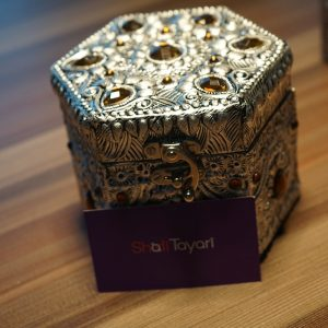 Stone Studded Jewellery Box