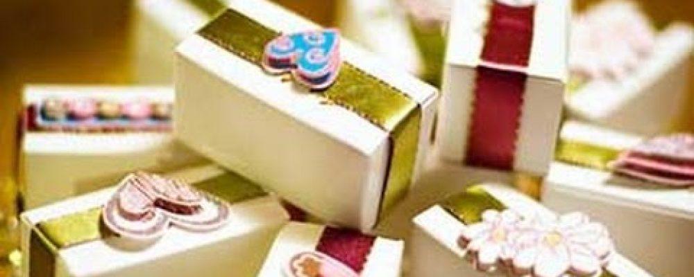 5 Unique Ideas for Nikkah Giveaway 'Chuware' Distribution