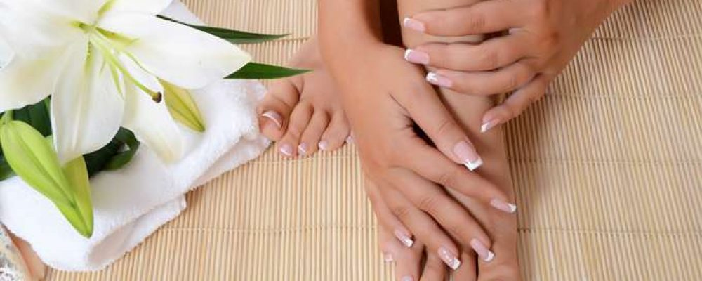Keep your hands and feet clean and pretty!