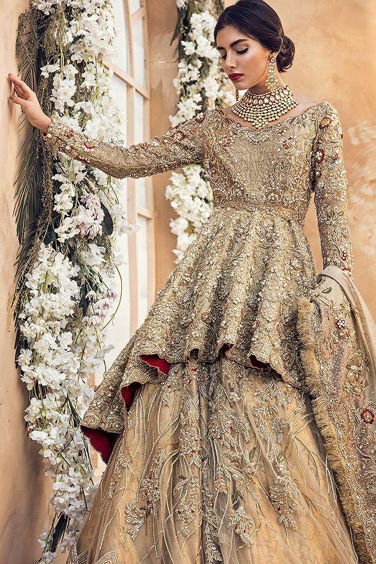 5 Inspiring Walima Bridal Dresses In 2018 Shadi Tayari