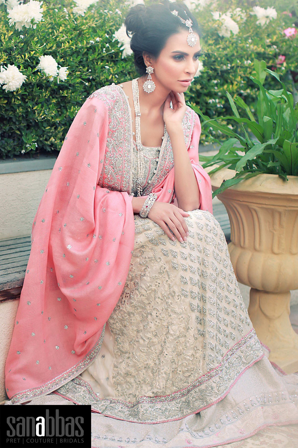 8d9a0db3aad The next in the list of the best boutiques for bridal shopping in Karachi  is the renowned Sana Abbas. The bridal collection of this brand is known  for its ...